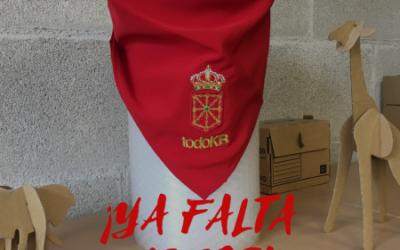 ¡Consigue tu pañuelo de San Fermín!